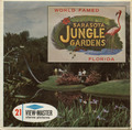 Sarasota Jungle Gardens - Vintage Classic View-Master® - 3 Reel Packet - 1960s Views