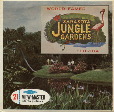 View-Master - Flowers-Gardens-Caves - Sarasota - Jungle - Gardens
