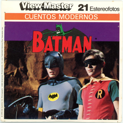 View-Master - Super Heroes - Batman