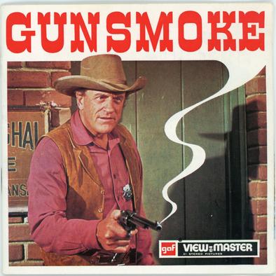 View-Master - TV Shows - Gunsmoke