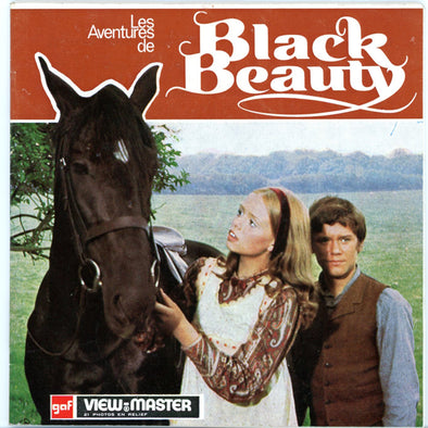 Black Beauty - Vintage Classic View-Master 3 Reel Packet - 1970s