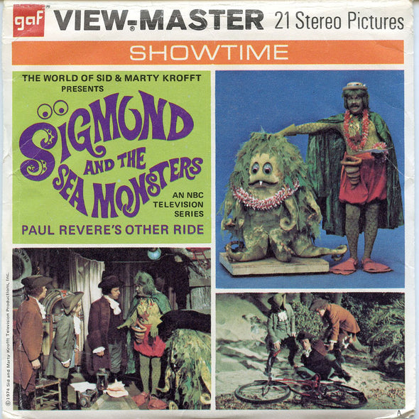 View-Master - TV Show - Sigmund and the Sea Monster