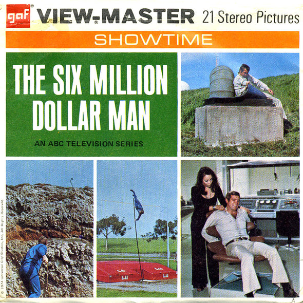 View-Master - TV Show - The Six Million Dollar Man