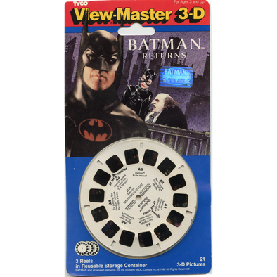 Batman Returns - ViewMaster 3 Reel on Card