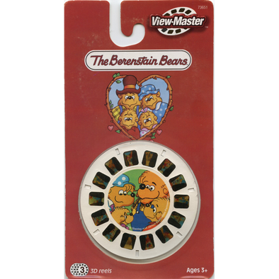 The Berenstain Bears - ViewMaster 3 Reel on Card
