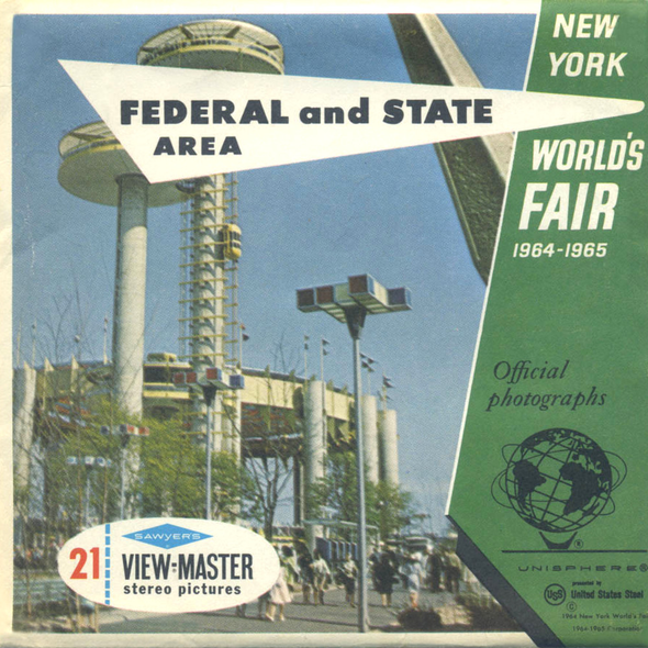 View-Master - World's Fair - Federal and State - Area