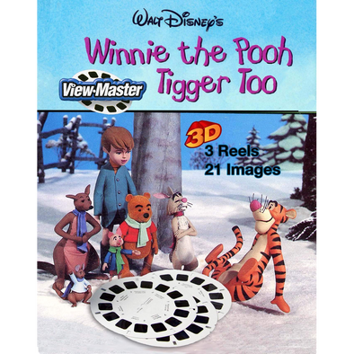 Winnie the Pooh and Tigger Too - View Master 3 Reel Set