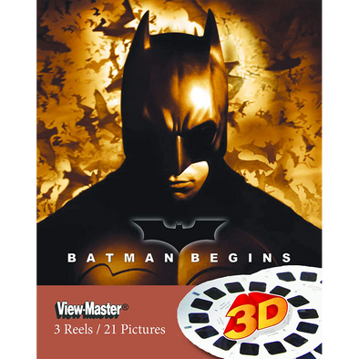 Batman Begins - Scenes from the Movie - View Master 3 Reel Set