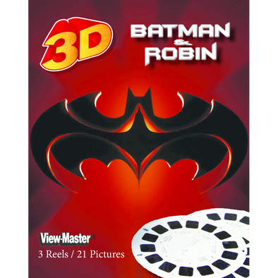 Batman and Robin - Scenes from the Movie - View Master 3 Reel Set