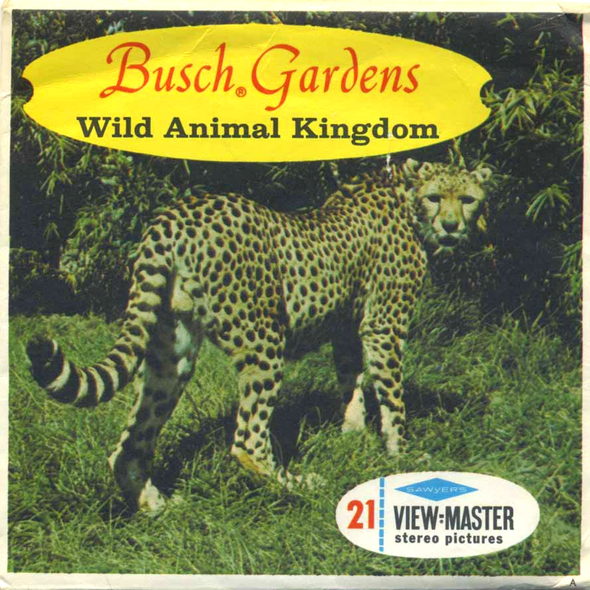 View-Master - Scenic South - Busch Gardens Wild Animal Kingdom