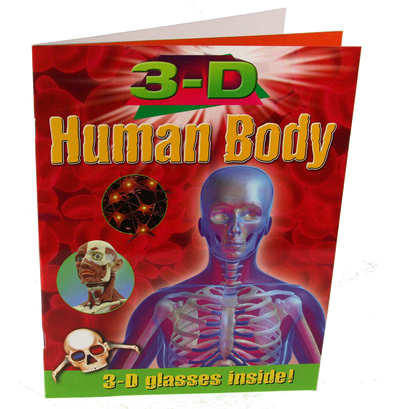 3D Thrillers! HUMAN BODY - Includes funky 3D Glasses