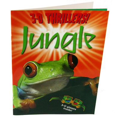 3D Thrillers! JUNGLE - Includes funky 3D Glasses