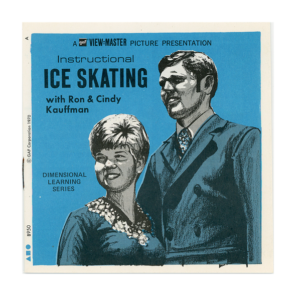 Instructional - Ice - Skating - B950 - Vintage Classic View-Master - 3 Reel Packet - 1960s Views