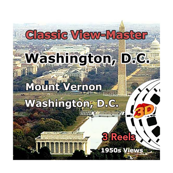 Washington, D.C. - Vintage Classic View-Master - 1950s views