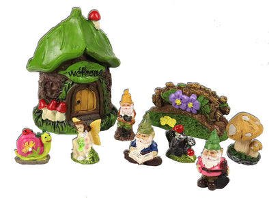 leafton miniature fairy garden