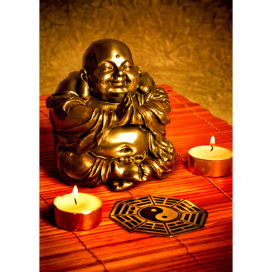Buddha - 3D Lenticular Postcard Greeting Card