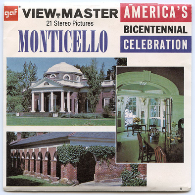 View-Master - Art and Architecture - Monticello
