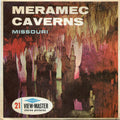 Meremac Caverns, Missouri  - Vintage Classic View-Master® - 3 Reel Packet - 1960s Views
