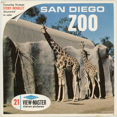 San Diego Zoo - A173 - Vintage Classic View-Master - 1960's Views