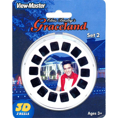 viewmaster Elvis Graceland Christmas 3 reel Set