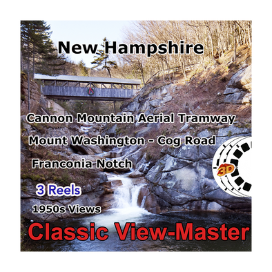 New Hampshire - Vintage Classic View-Master® - 1950s views