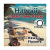 Hawaii Flowers -  Vintage Classic View-Master - Set of 3 Reels - 1950s views