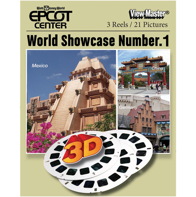 view-master Disney World Epcot Center Showcase No. 1