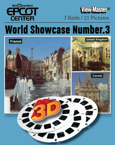 Walt Disney Epcot Center World Showcase Number 3 - Vintage Classic View-Master