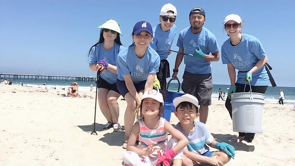 Thank you all who came out and participated in our beach cleanup event!