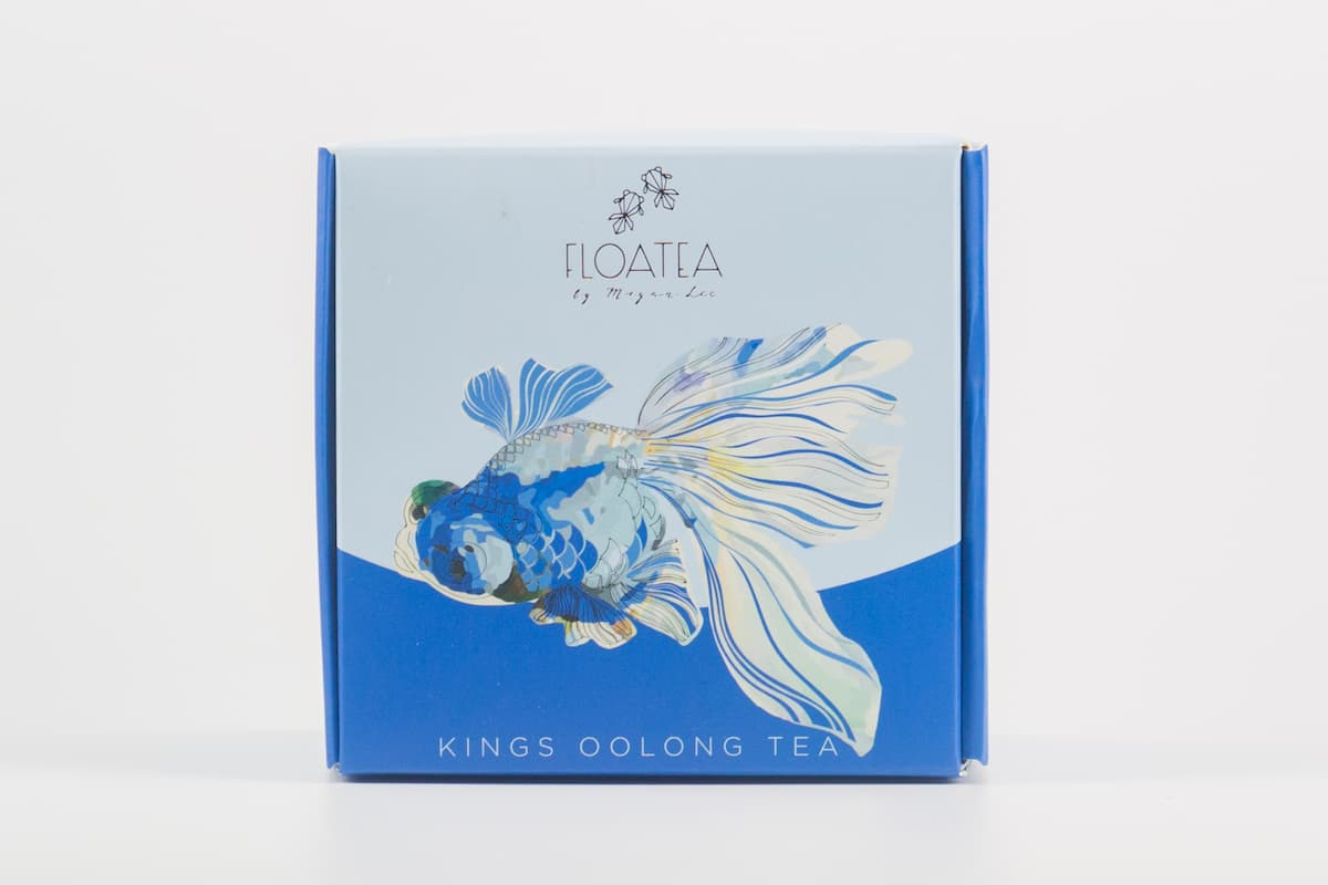 FloaTea SAMI King's Oolong Tea Box Front