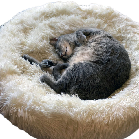 Luxury Round CatLady Cat Bed