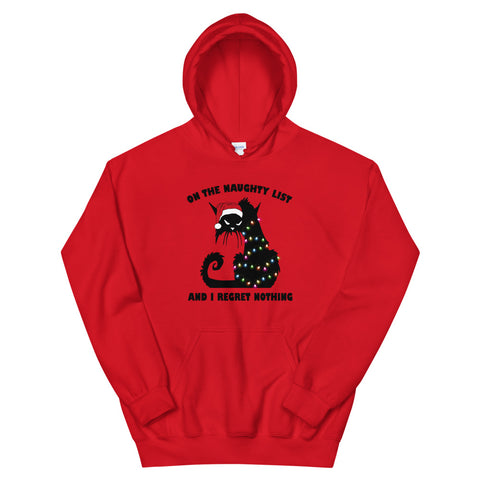 On the Naughty List Unisex Hoodie