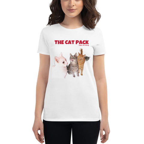 The Cat Pack short sleeve t-shirt