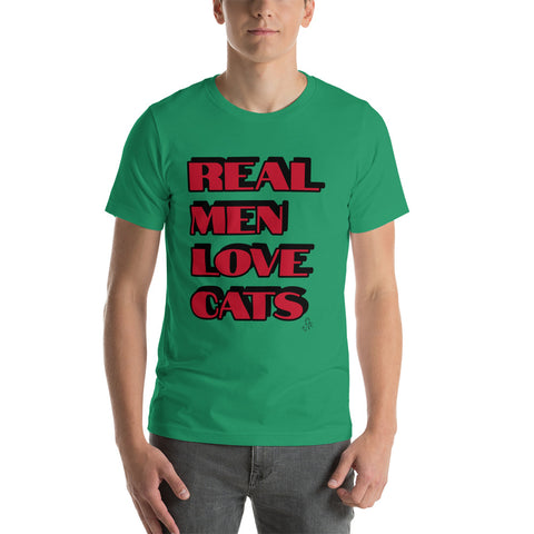 Real Men Love Cats Unisex T-Shirt