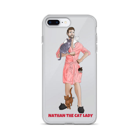 iPhone Case (Pink Robe)