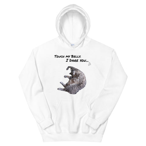Touch My Belly Unisex Hoodie