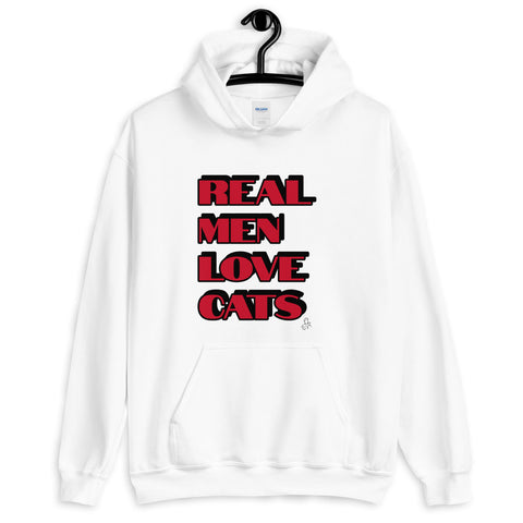 Real Men Love Cats Hoodie