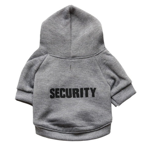 Cat Security Hoodie