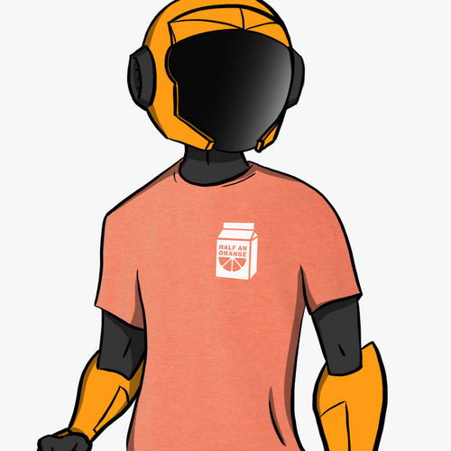 Orange Juice Shirt - Orange