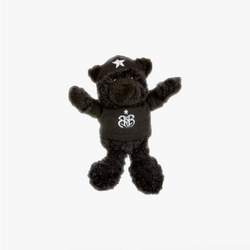 Rock Star Baby bamse Sort 16cm
