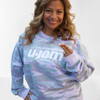 Light Camo Sweatshirt W/ White Glitter Logo