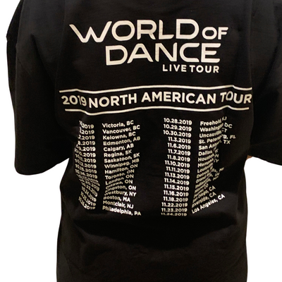 World of Dance 2019 Live Tour Tee (Black)