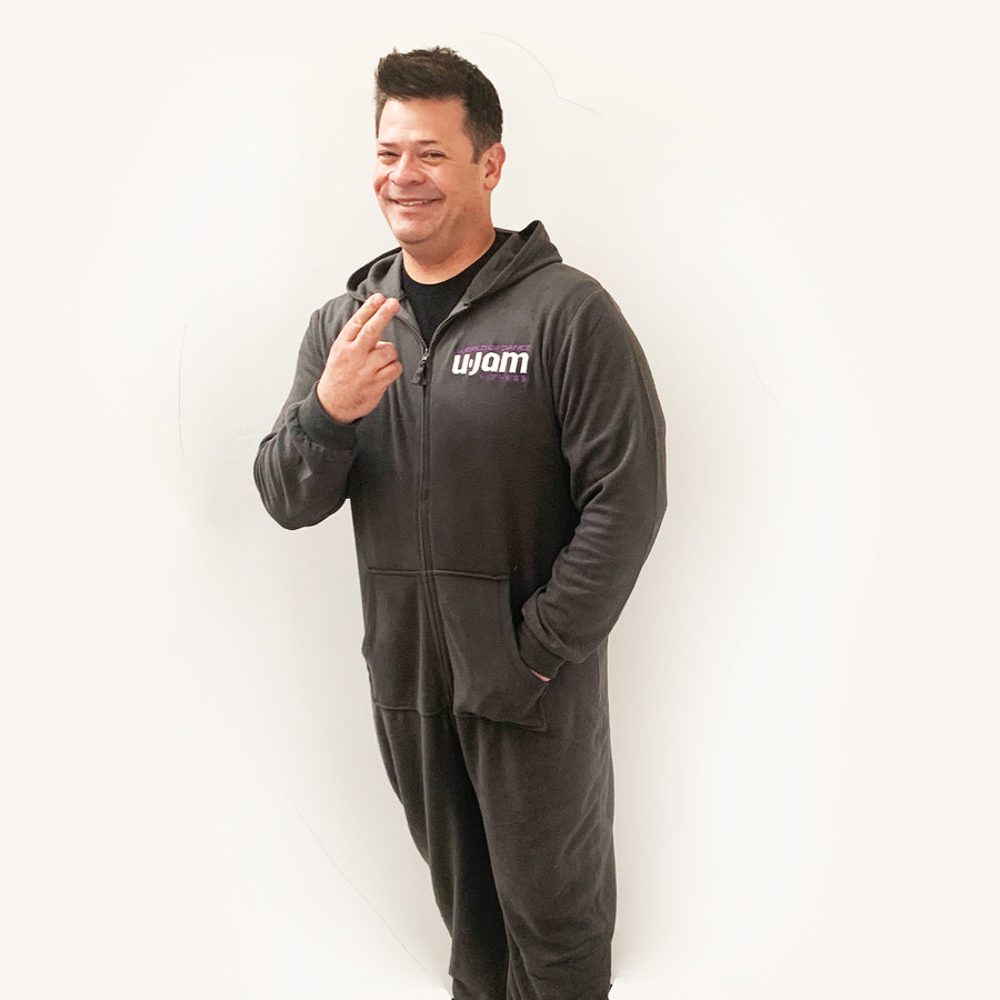 Charcoal Unisex World of Dance U-Jam Onesie