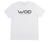 White WOD TV Logo Tee