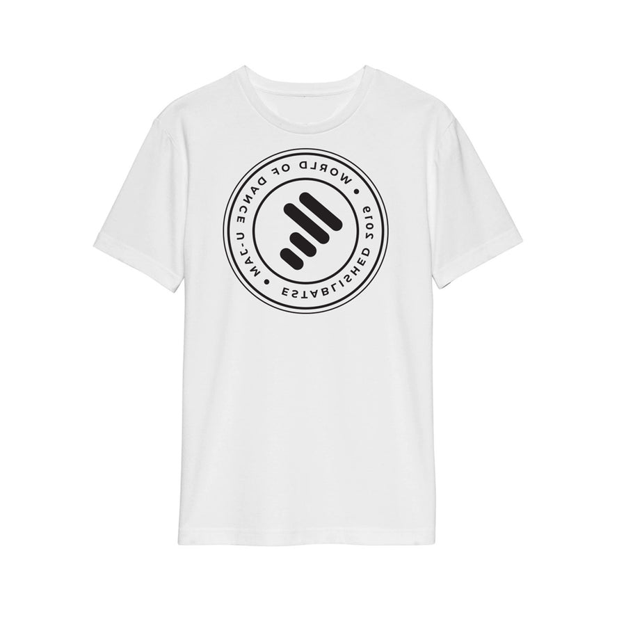 AUGUST PREORDER:  White Tee W/ Reverse Unity Stamp (For Virtual Instructors)