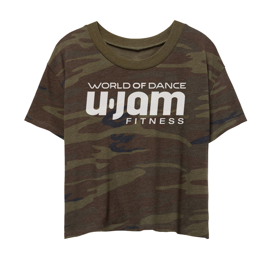 AUGUST PREORDER: Women's Camo Cropped Tee