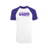 Purple/White Raglan
