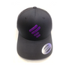 BLACK TRUCKER WITH PURPLE UNITY MARK (MESH SIDES)