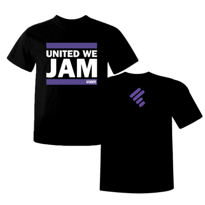 "Black Premium ""United We Jam"" T-Shirt"