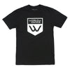 Badge Logo SS Tee (Black)